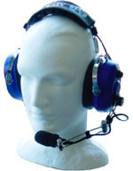 6AVOH-ECS two way headset